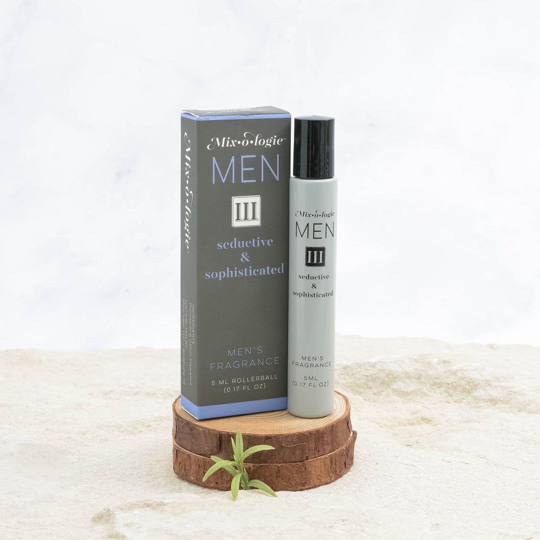 Mixologie Fragrance for Men - III (Seductive and Sophisticated)