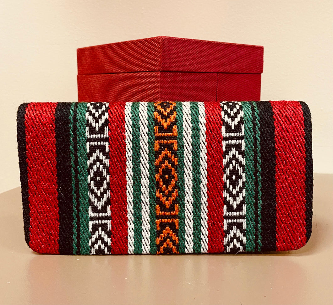 Tunisian Wallet - Large Red