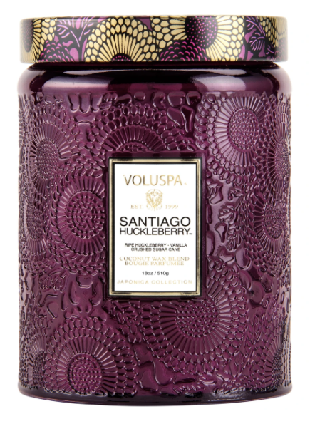 Voluspa Santiago Huckleberry Large Candle