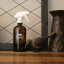 Load image into Gallery viewer, Amber Glass Cleaning Essentials Bottle