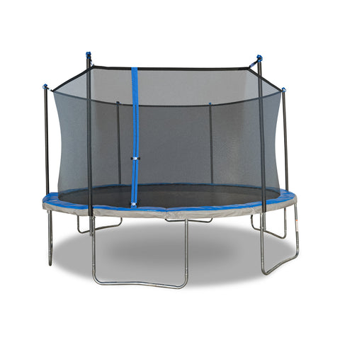 TruJump 14' Blue Trampoline with Enclosure