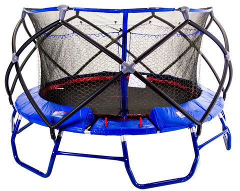 Monxter XT8 15 Foot Round Trampoline and Safety Enclosure Combo
