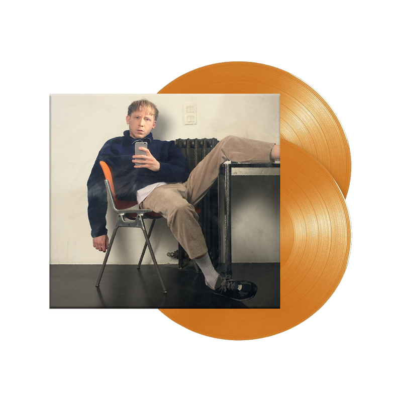 """Cure"" Double Vinyle Orange"