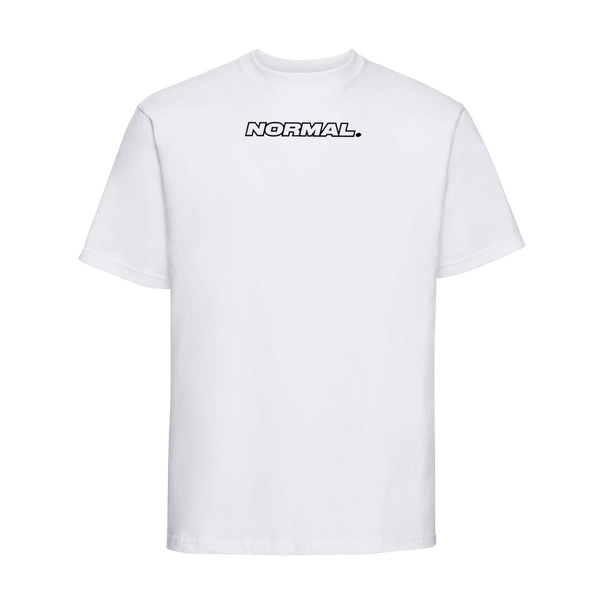 T-shirt blanc NORMAL Eddy de Pretto