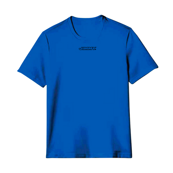 T-shirt bleu JIMMY Eddy de Pretto