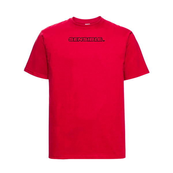 T-shirt rouge SENSIBLE Eddy de Pretto