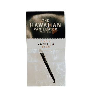Single Hawaiian Vanilla Bean In A Bag