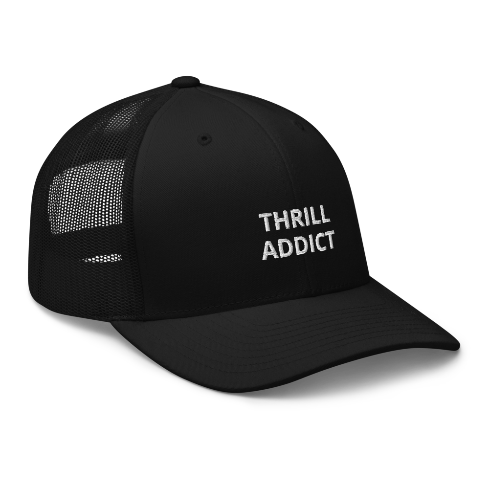 THRILL ADDICT - Trucker Cap BESTICKT