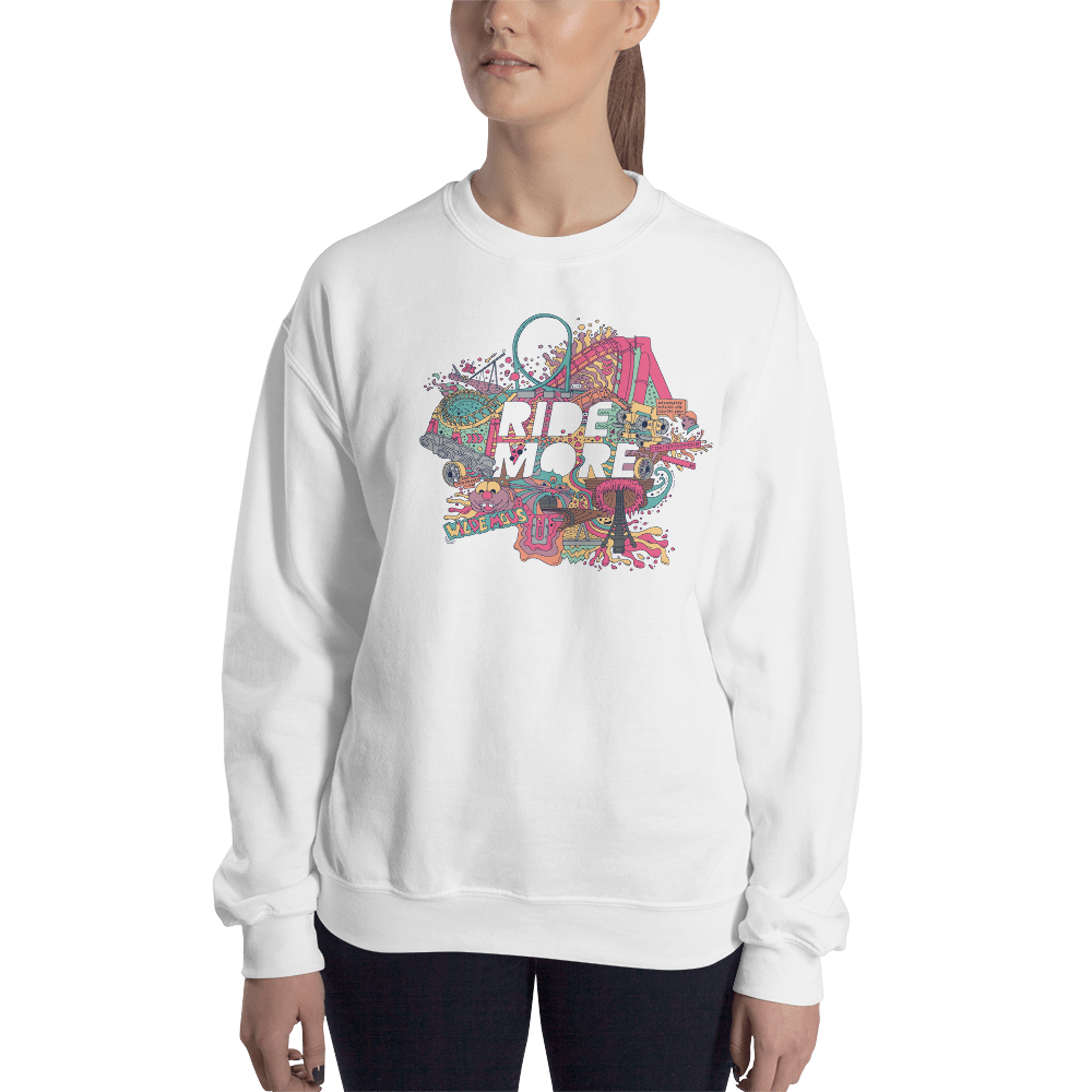 RIDE MORE - Unisex Sweatshirt