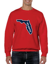 Load image into Gallery viewer, Crew Neck Sweatshirt with printed FAU (Logo 6)