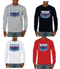 Load image into Gallery viewer, Long Sleeve T-Shirt Banner Owl Performance FAU (Logo 2)