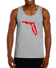 "Load image into Gallery viewer, ""State"" Logo Tank Top (Logo 6) FAU"