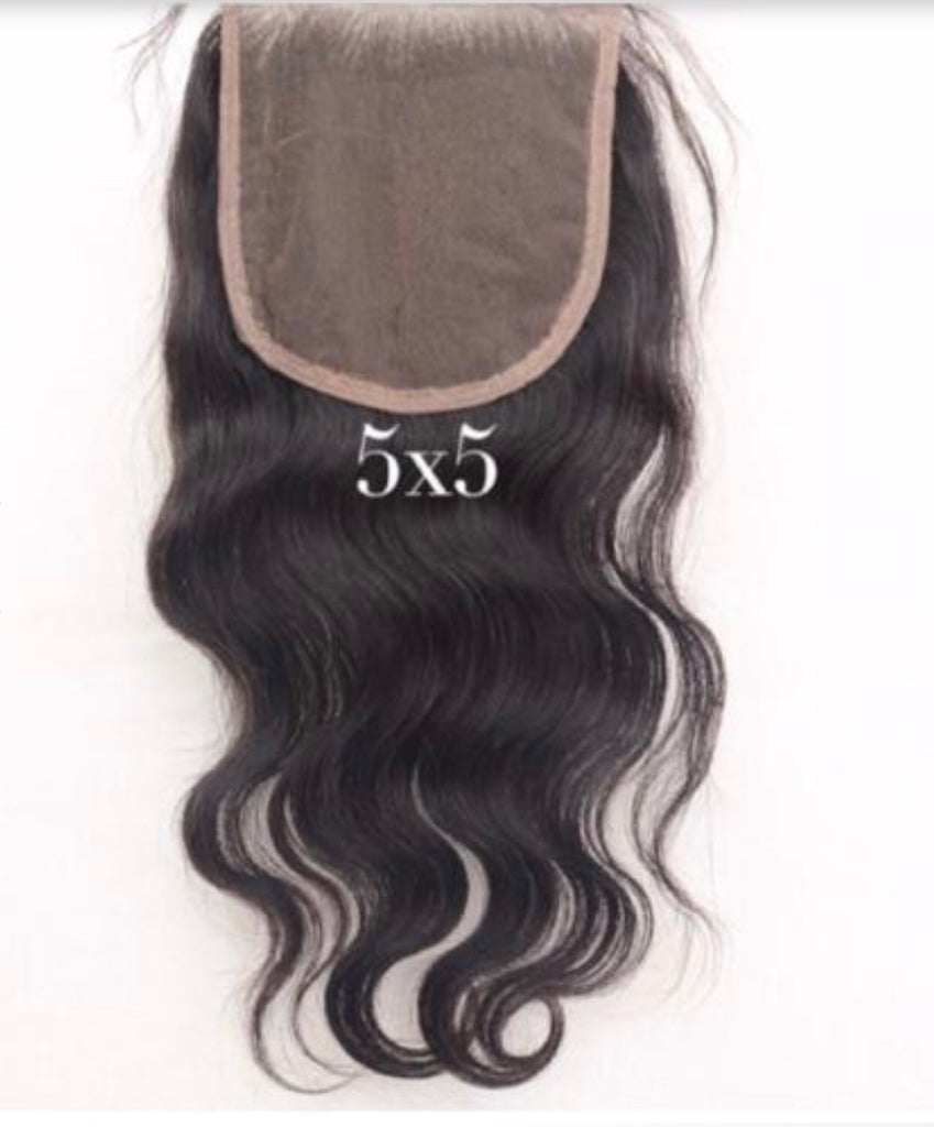 RAW SEA Wavy 5x5 Lace Closure