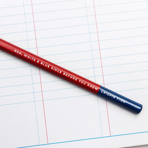 Crispin Finn pencil and planner pad