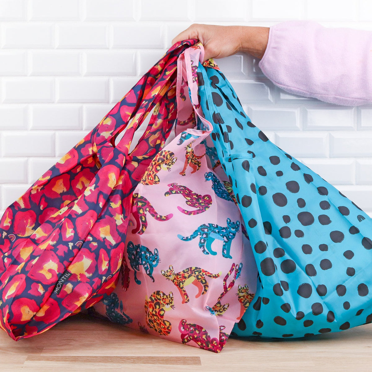 Montii Reusable Shopper Bag Sets
