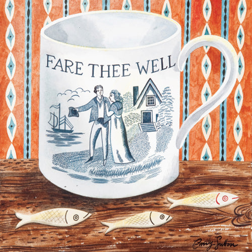Greetings Card - Fare Thee Well : Emily Sutton