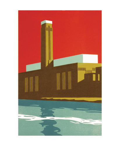 Greetings Card - Tate Red : Paul Catherall