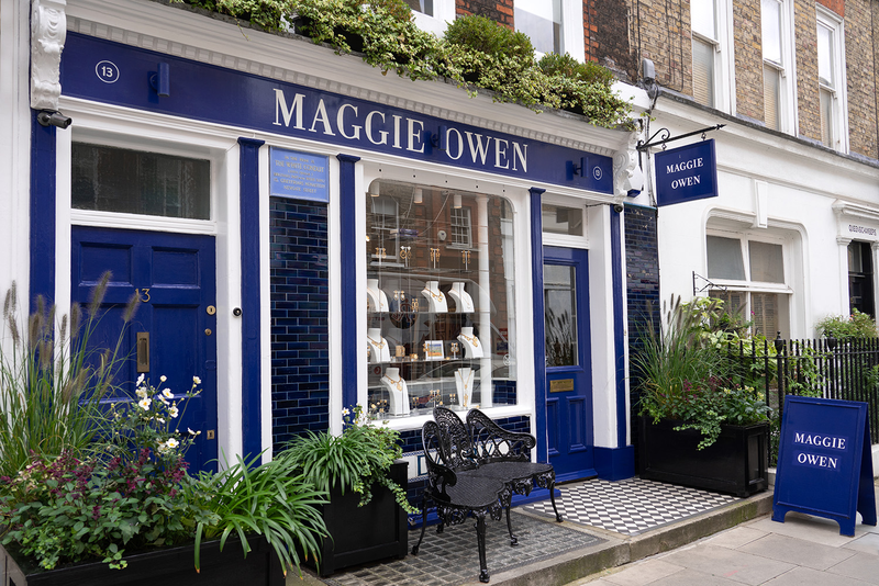 Maggie Owen London shop front