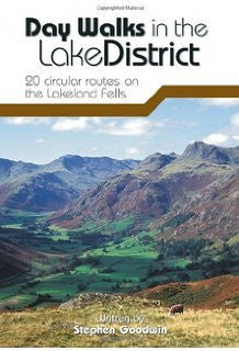 Stephen Goodwin - Day Walks in the lake District: 20 circular routes on the Lakeland Fells - Windermere Canoe Kayak