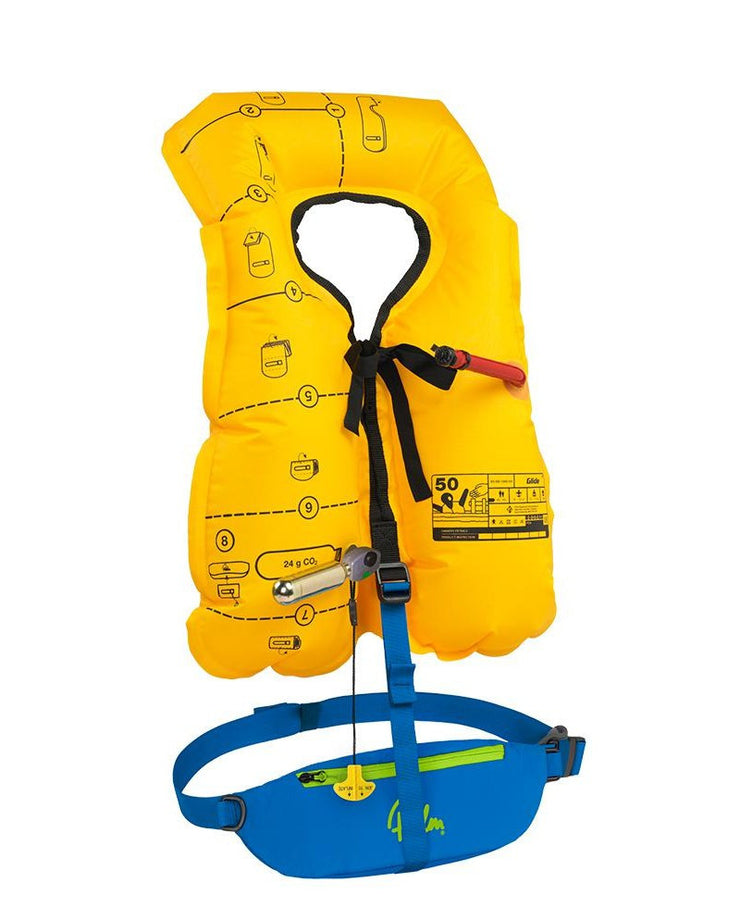 Palm Equipment - Glide PFD - Inflated - Windermere Canoe Kayak