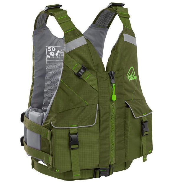 Palm Equipment - Hydro PFD - Olive - Windermere Canoe Kayak