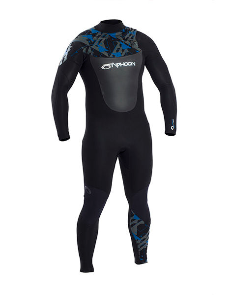 Typhoon - Vortex OFZ Full 3mm Wetsuit Mens