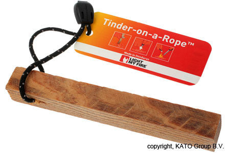 Light My Fire - Tinder-on-a-rope - Windermere Canoe Kayak