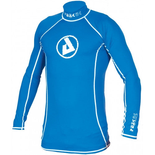 Peak UK - Lycra Rashy Long Sleeved Blue - Windermere Canoe Kayak