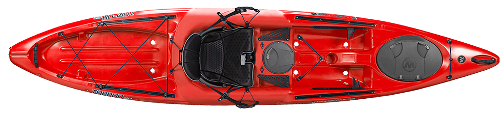Wilderness Systems - Tarpon 120 - Red - Windermere Canoe Kayak