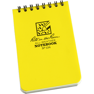 All weather Notebook (No 134)