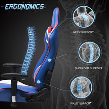 Load image into Gallery viewer, FX-04 - Ficmax Ergonomic Massage Gaming Chair
