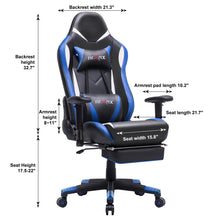 Load image into Gallery viewer, FS-02 - Ficmax Ergonomic Massage Gaming Chair