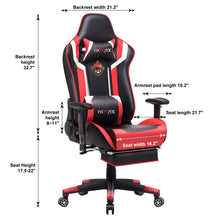 Load image into Gallery viewer, FX-05 - Ficmax Ergonomic Massage Gaming Chair
