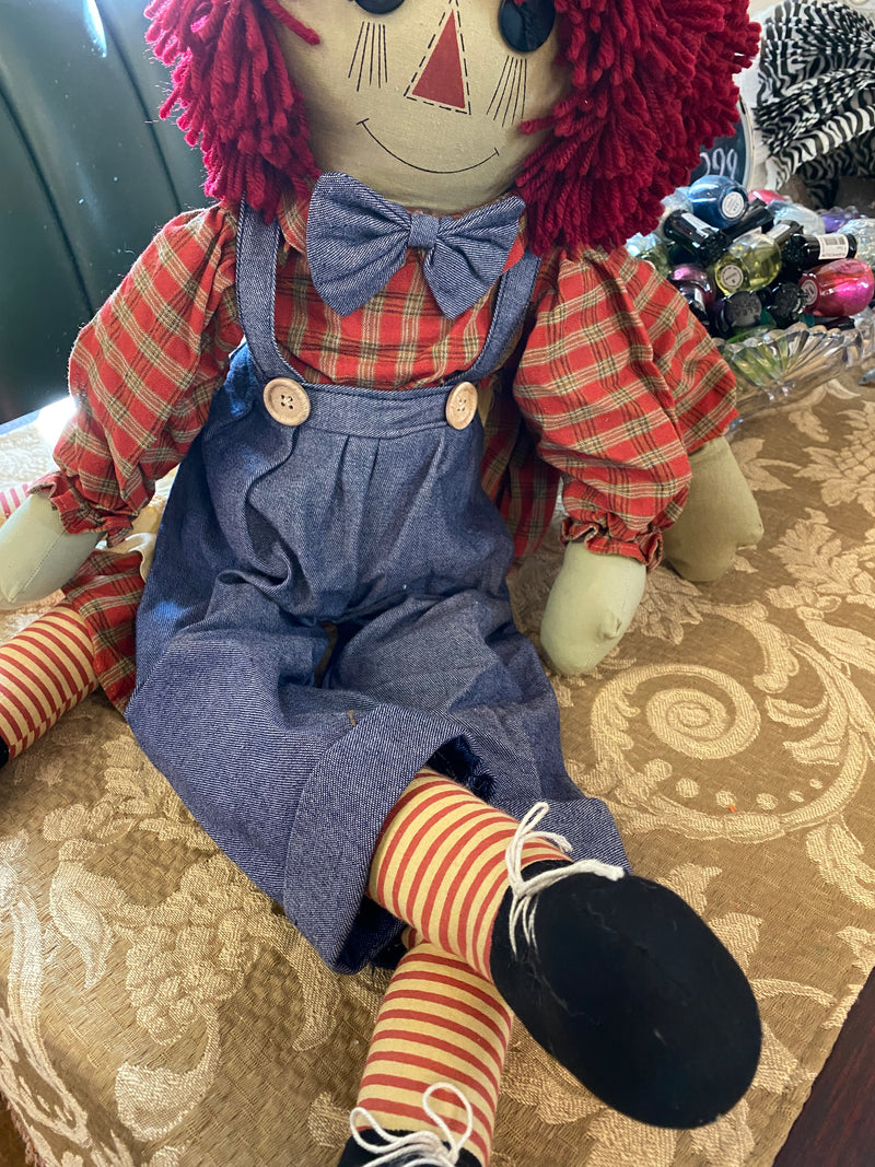 Raggedy Ann and Andy Dolls! Oh my Goodness, these are NICE!