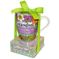 Grandma Colorful Mug and note Card Set!