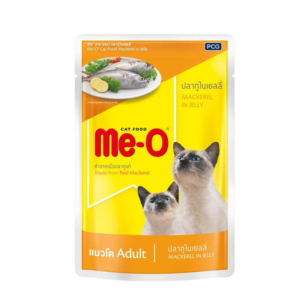 Me-O Mackerel in Jelly Adult Wet Cat Food
