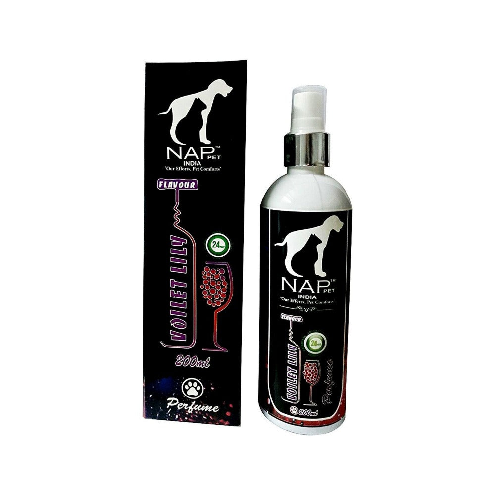 Nap Pet Voilet Lily Perfume Spray for Dogs & Cats