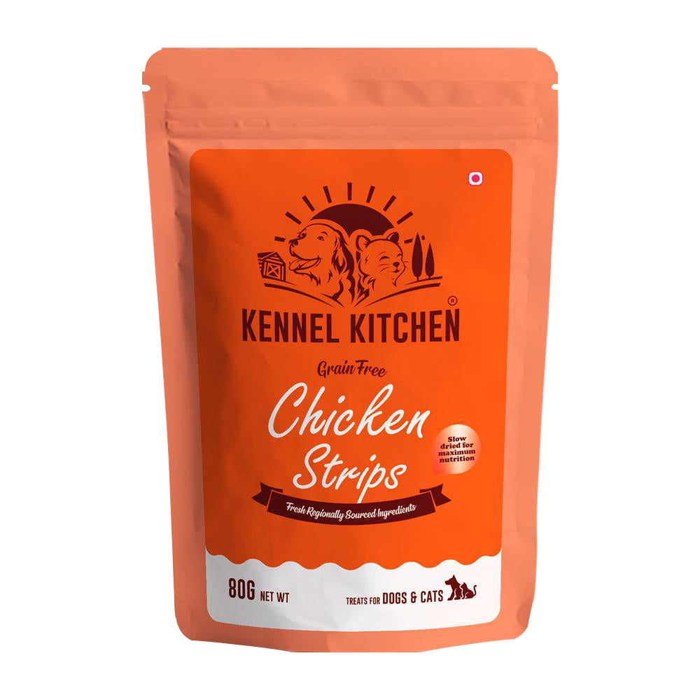 Kennel Kitchen Treats- Chicken Strip for Cats and Dogs