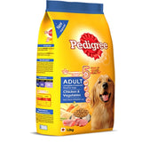 Pedigree Adult Chicken and Vegetables Dry Dog Food
