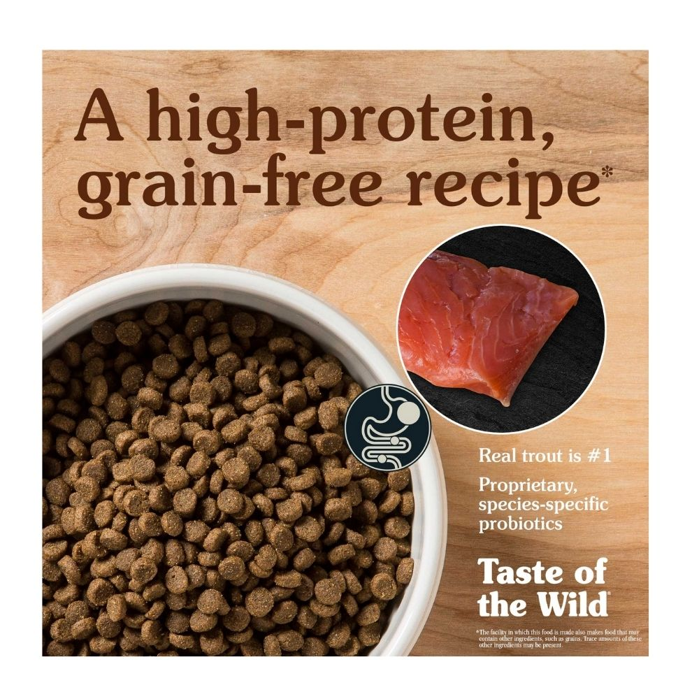 Taste of the Wild - Canyon River Trout & Smoked Salmon Dry Cat Food