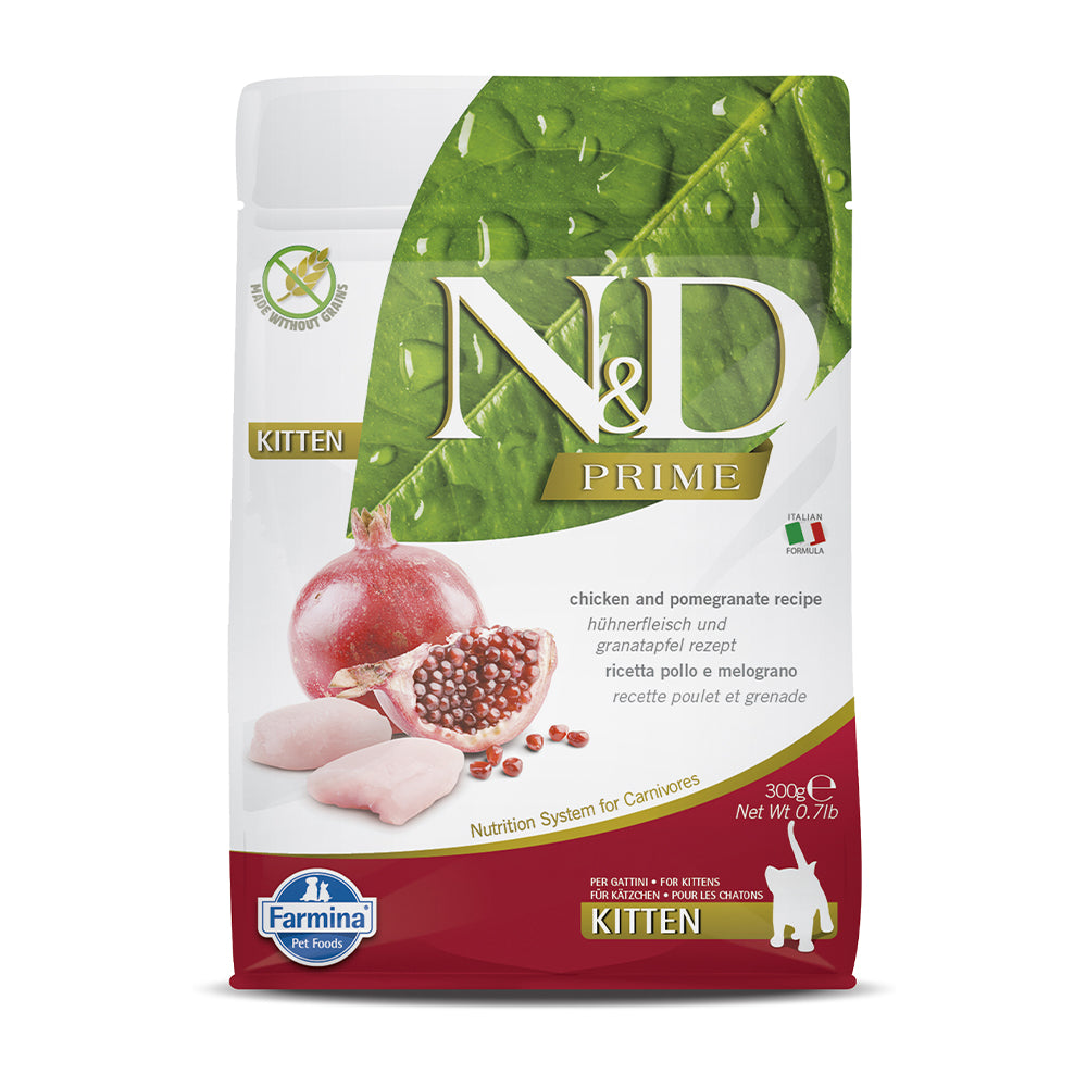 Farmina N&D Chicken & Pomegranate Dry Kitten Food
