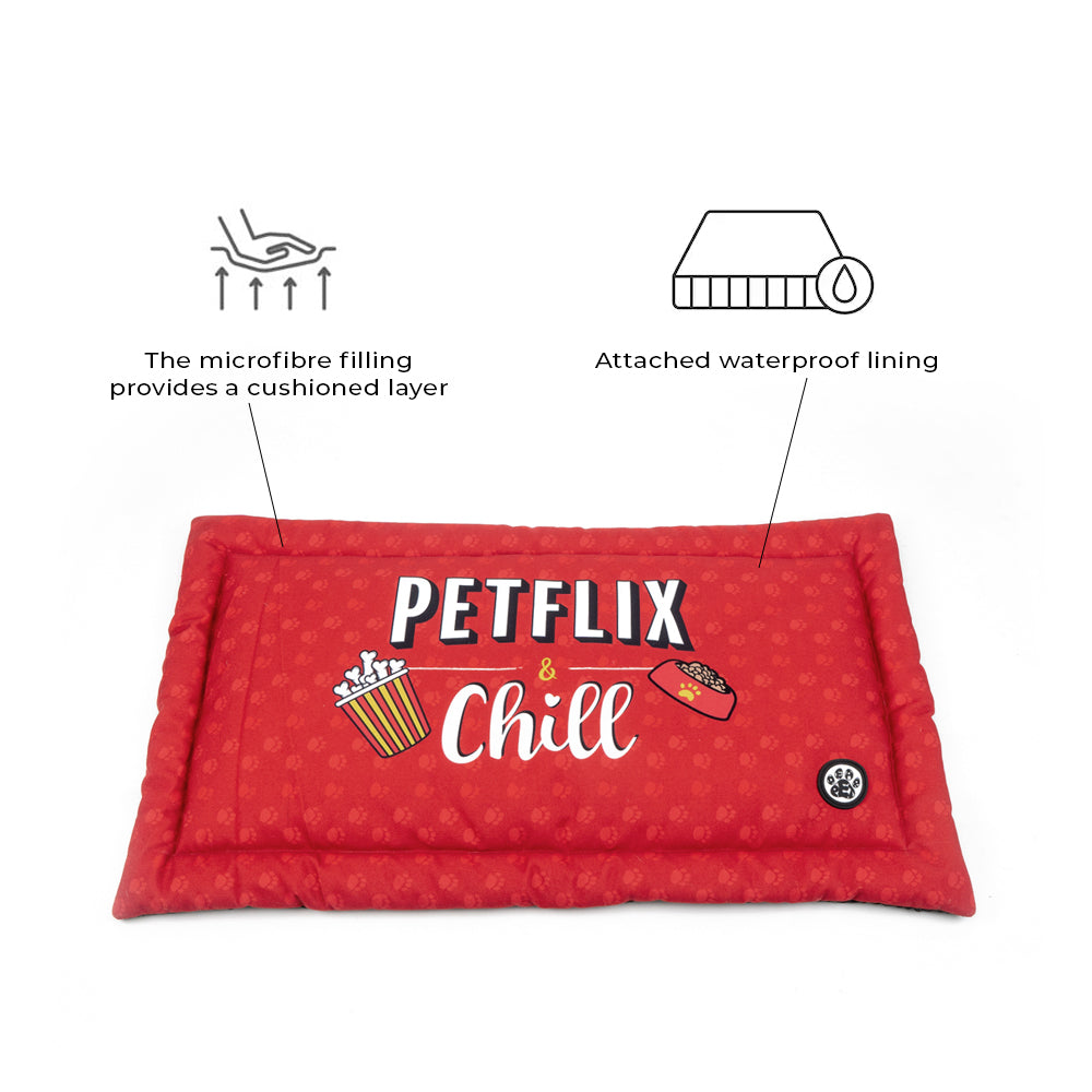 Dear Pet Petflix & Chill Dog Mat
