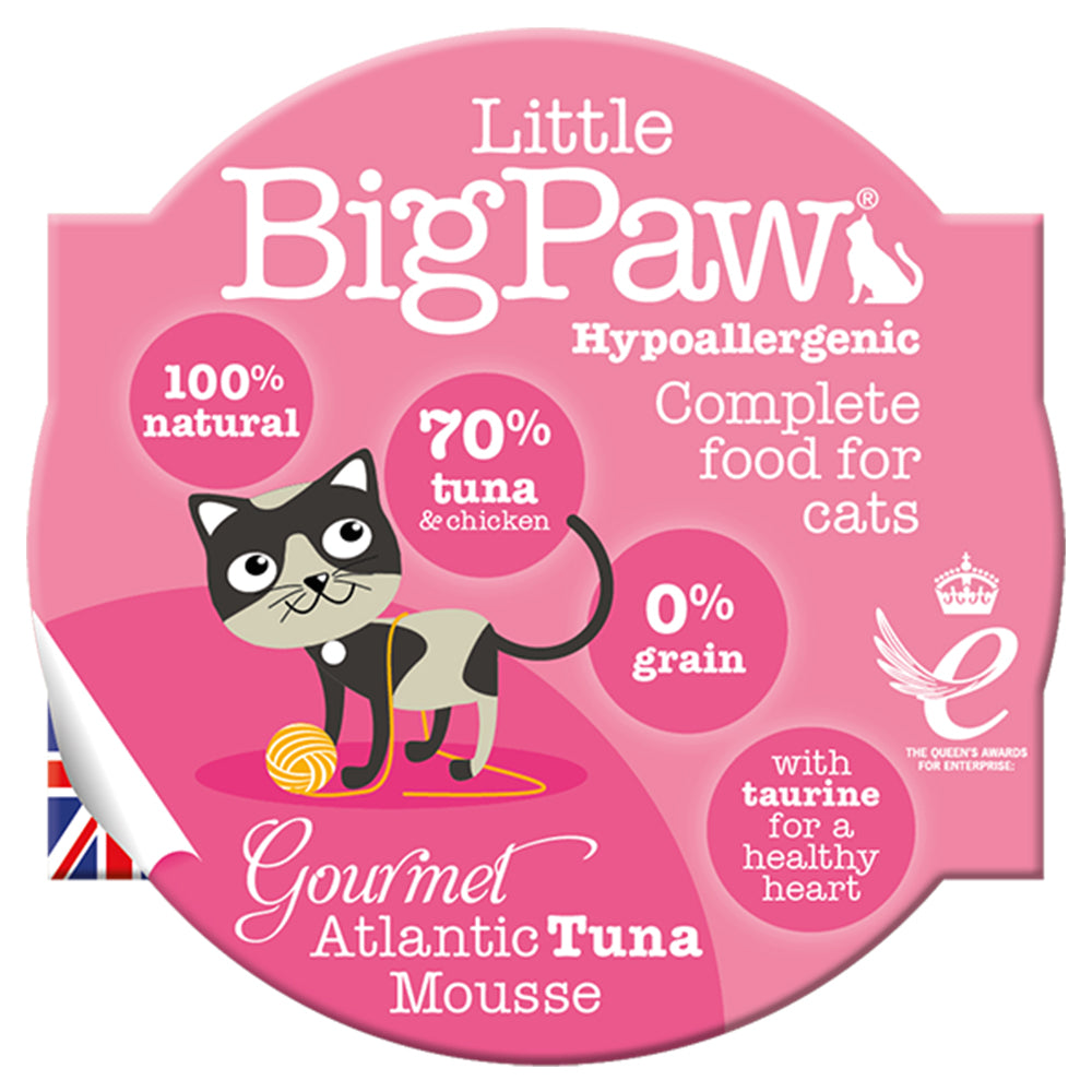 Little BigPaw Gourmet Atlantic Tuna Mousse Adult Wet Cat Food