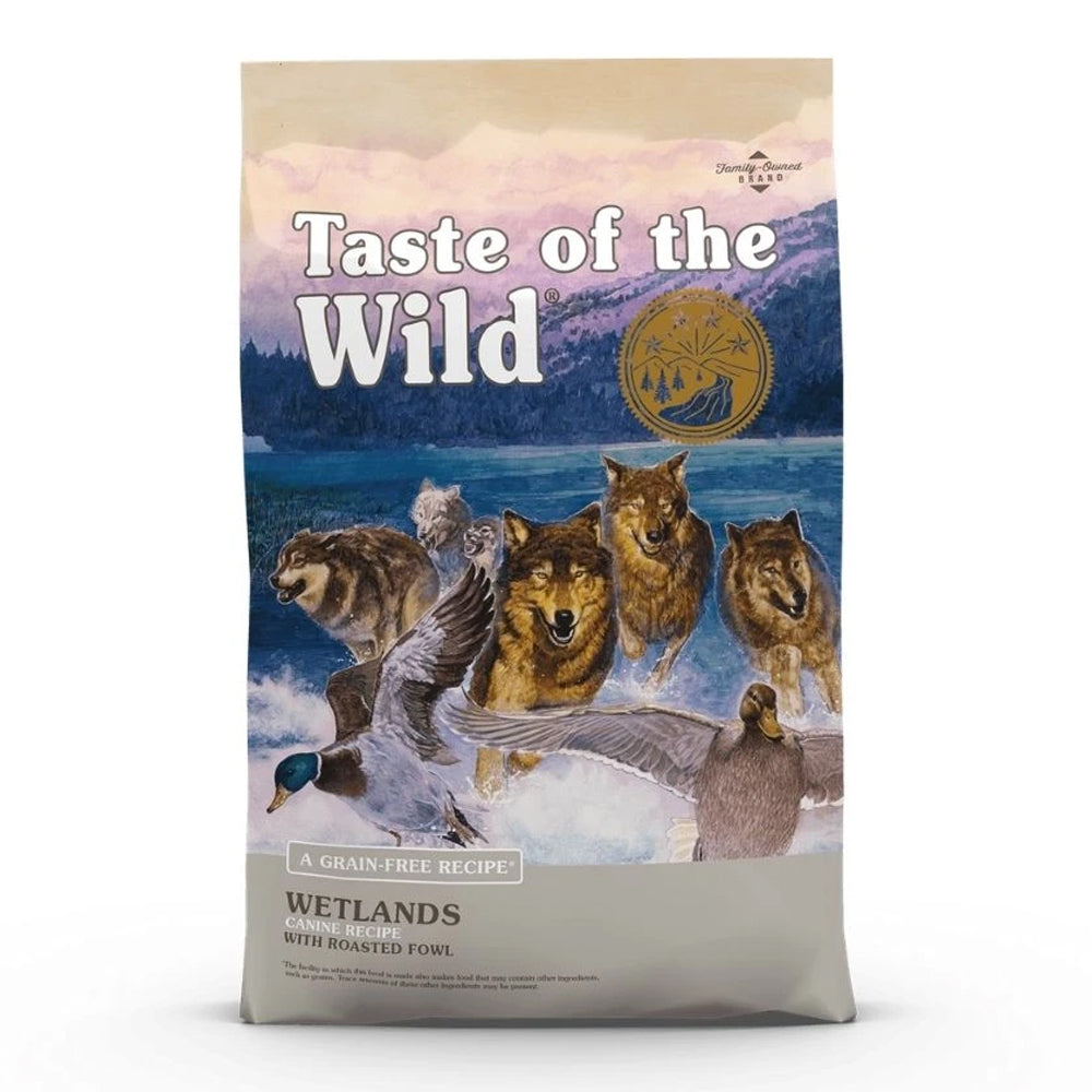 Taste Of The Wild Roasted Fowl For Adults - Grain-Free Wetlands Dry Dog Food