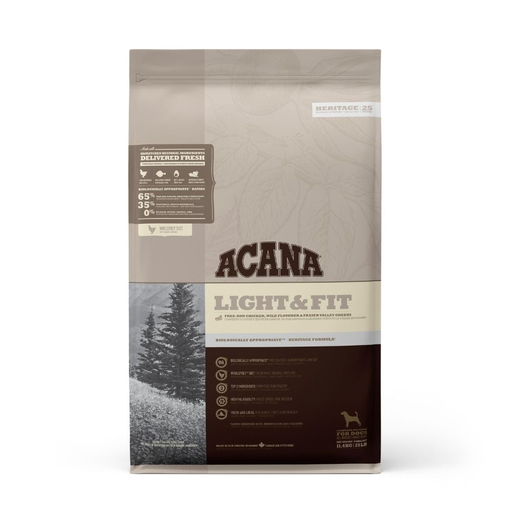 Acana Light And Fit Puppy and Adult Dry Dog Food