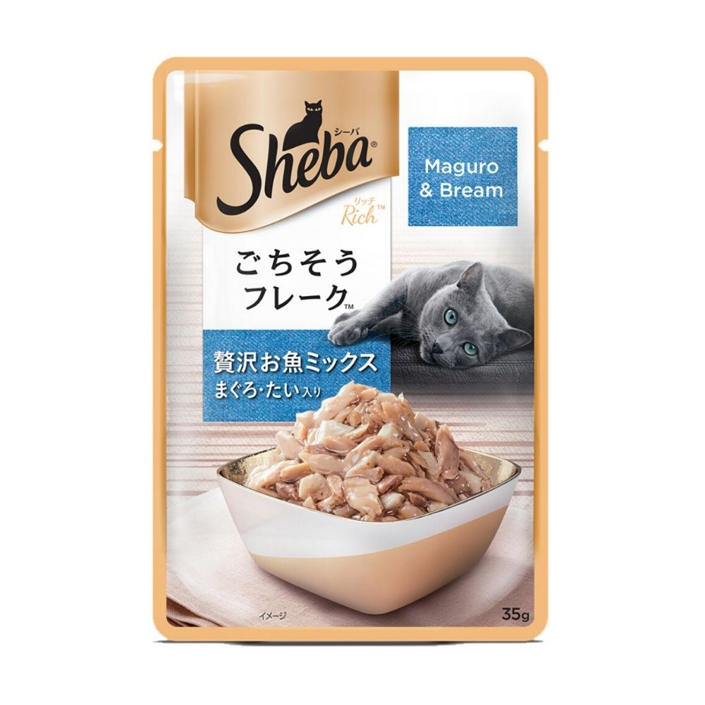 Sheba Maguro & Bream Adult Wet Cat Food