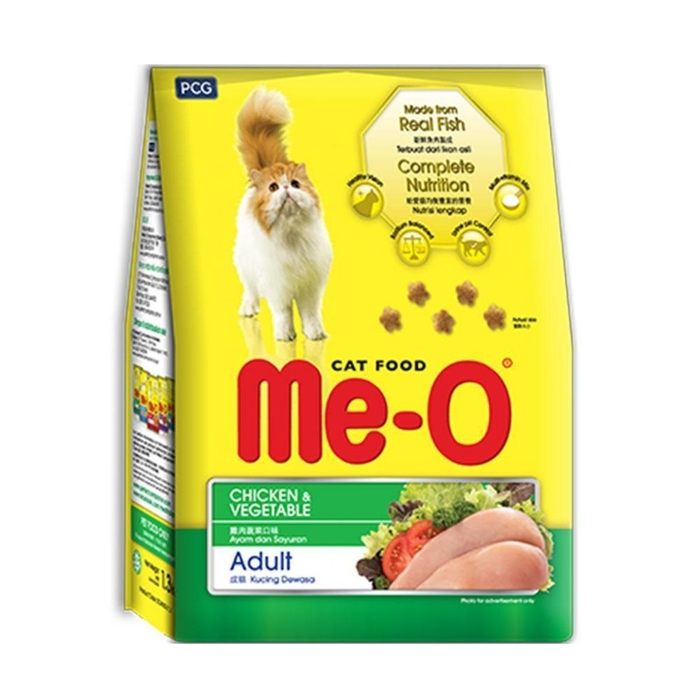Me-O Adult Chicken & Vegetable Dry Cat Food