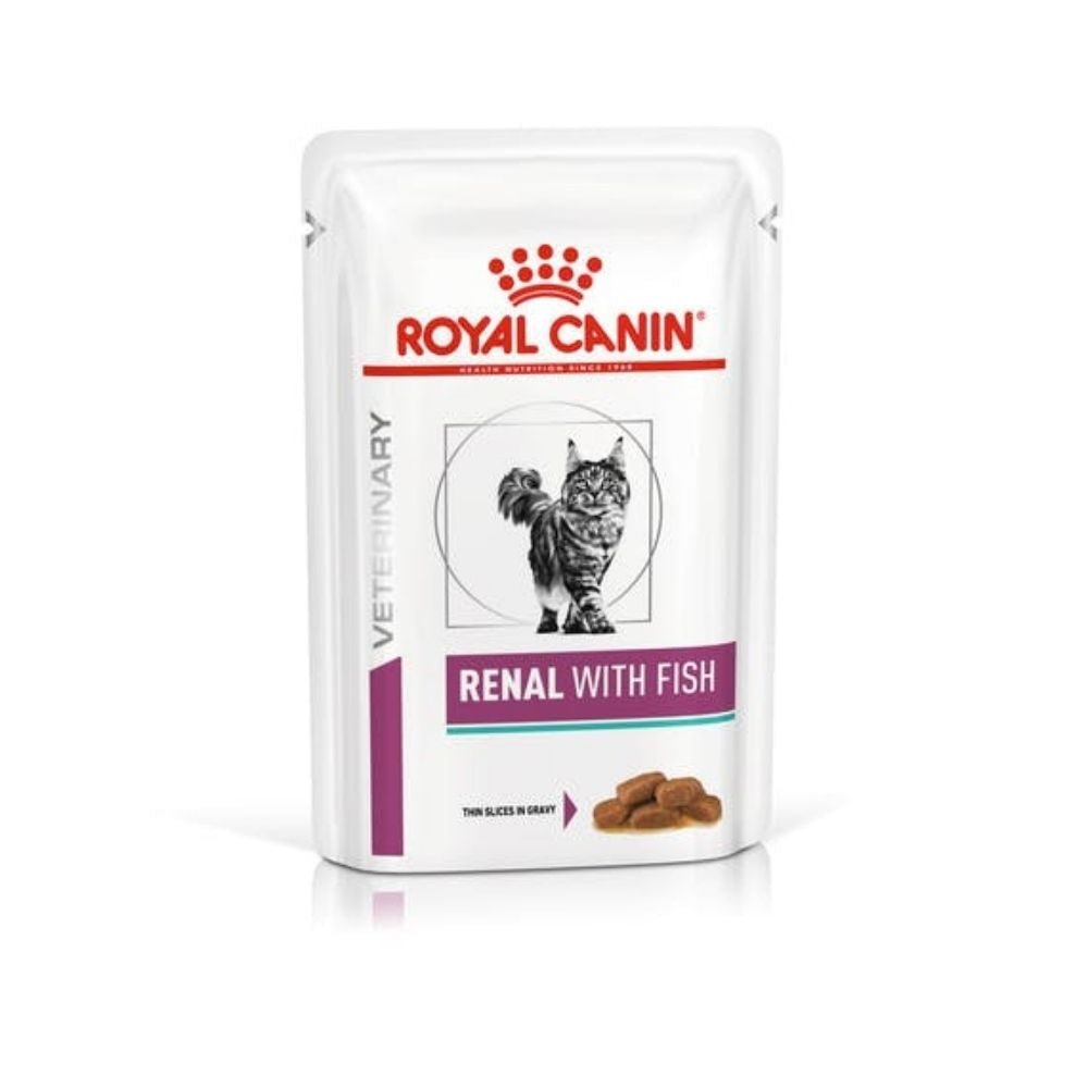 Royal Canin Renal with Fish for Cats Wet Cat Food