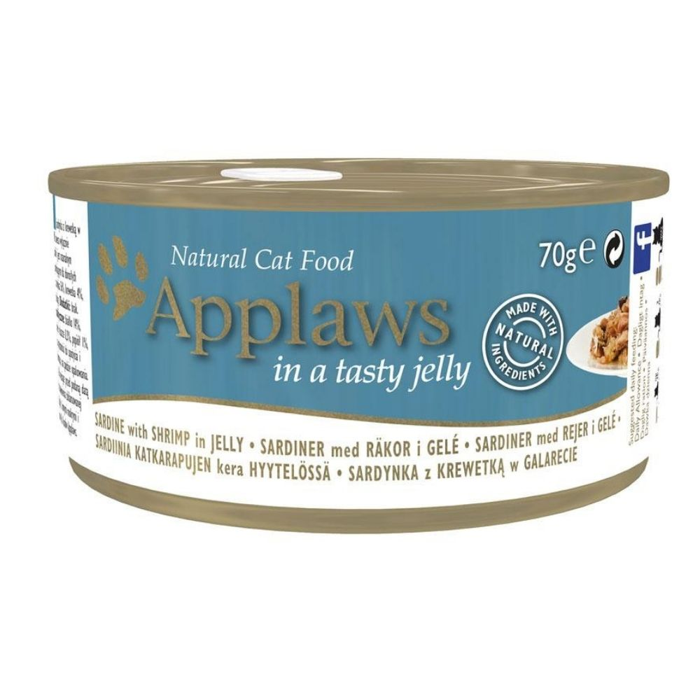 Applaws Sardine with Shrimp with Tasty Jelly Adult Wet Cat Food