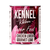 Kennel Kitchen Super Food Chicken Liver Gourmet Loaf Puppy and Adult Wet Dog Food